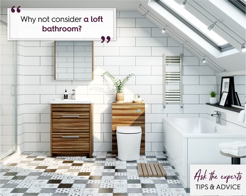 Add a loft bathroom