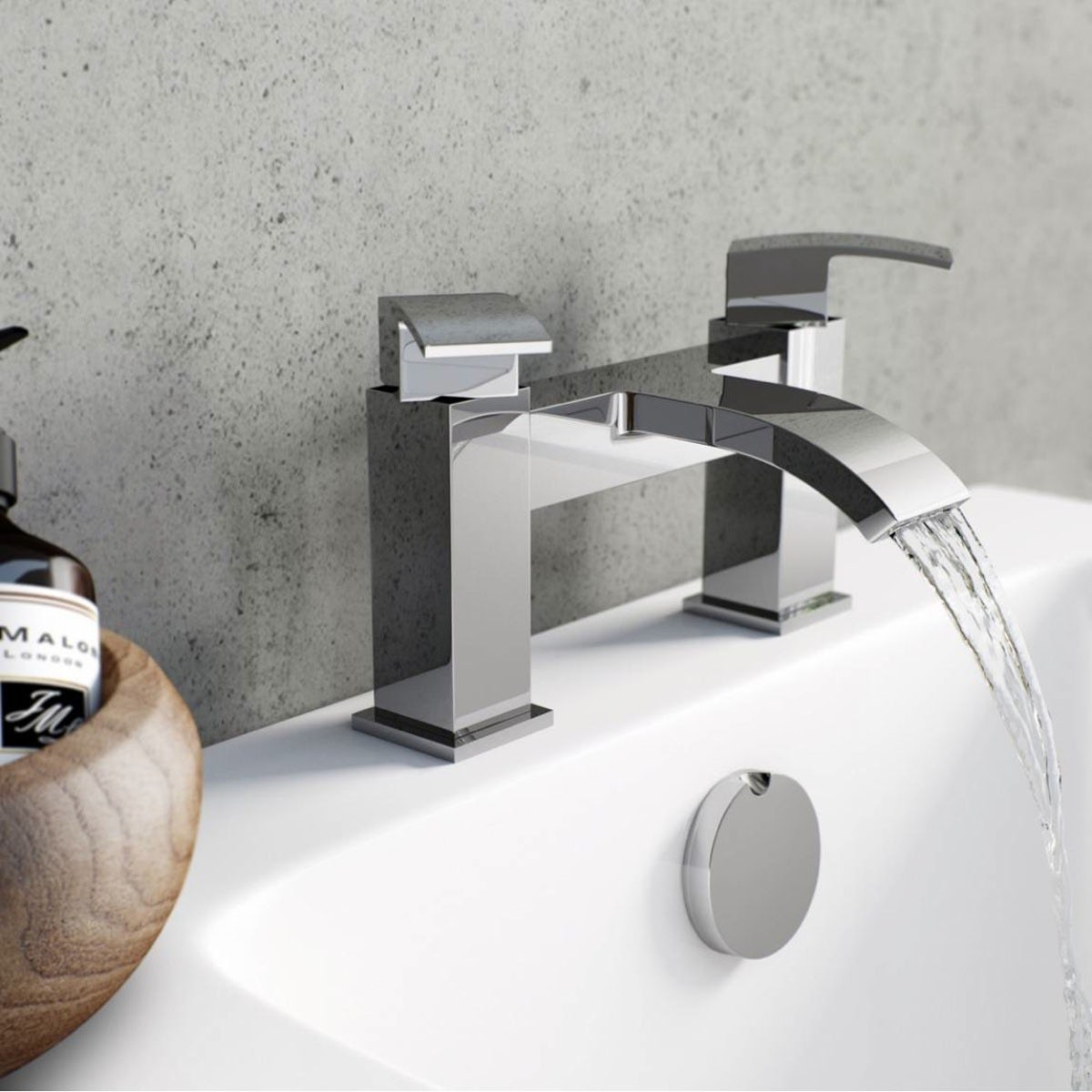 How to Fit a Bath Mixer Tap | VictoriaPlum.com