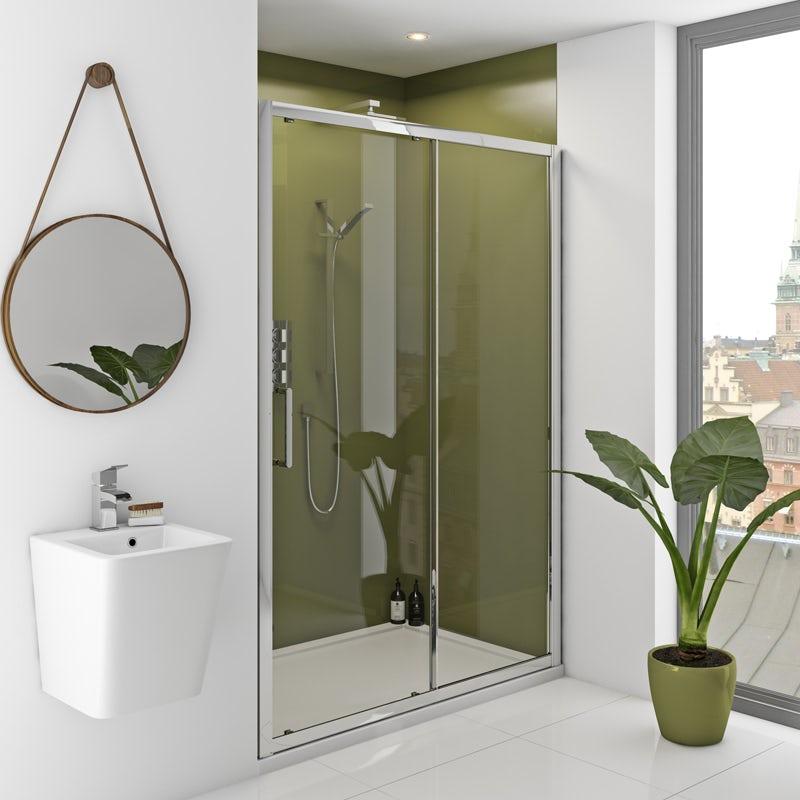 Zenolite plus earth acrylic shower wall panel