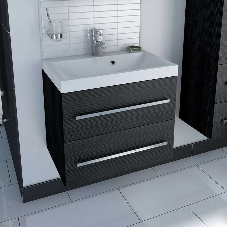 Drift Essen wall hung vanity unit with basin 600mm