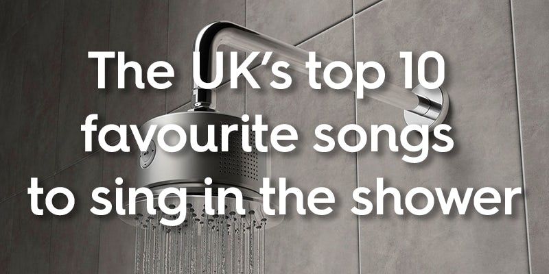The UK's top 10 favourite songs to sing in the shower