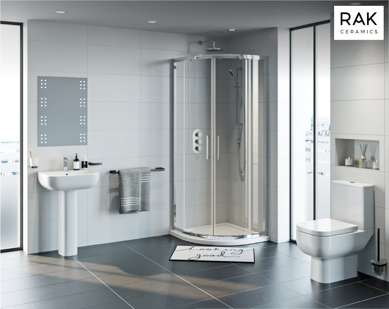 RAK Series 600 and Mode complete shower enclosure suite