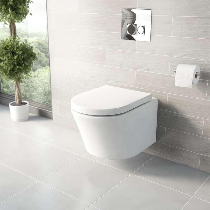 Tate wall hung toilet
