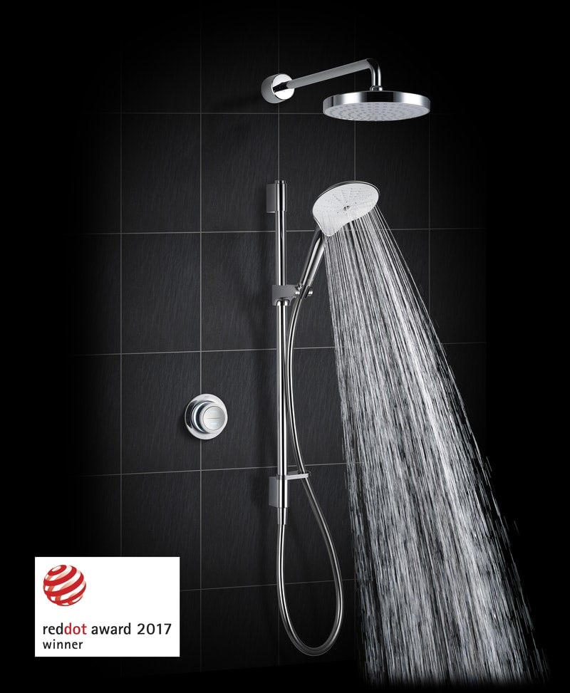 Mira Mode dual rear fed digital shower standard