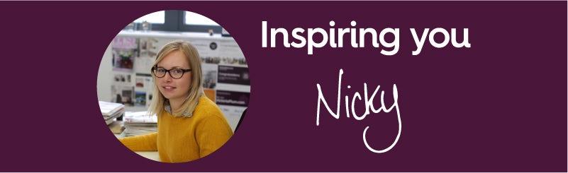 Nicky - Inspiring you