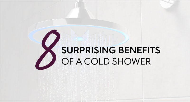 8 surprising benefits of a cold shower