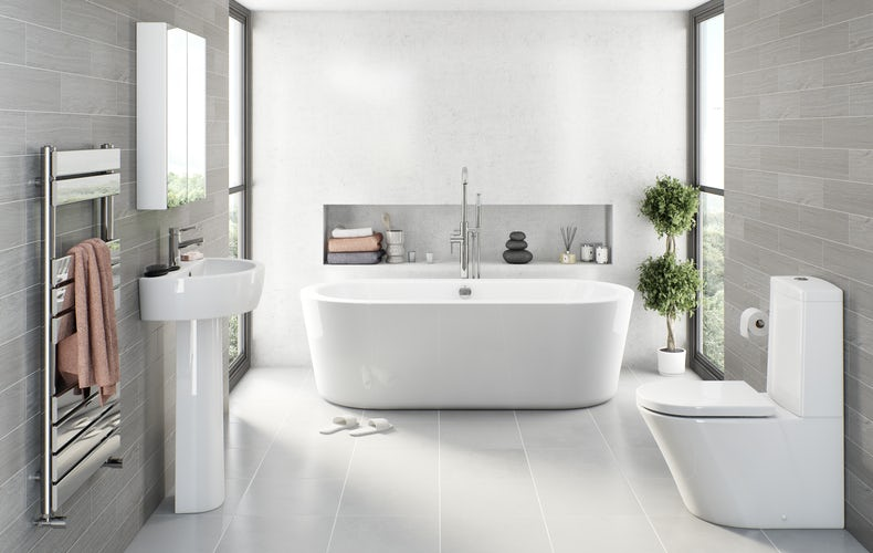 Arte bathroom suite
