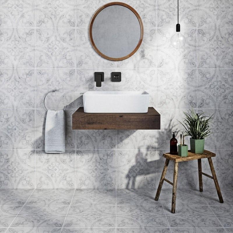 Glamorous tiles