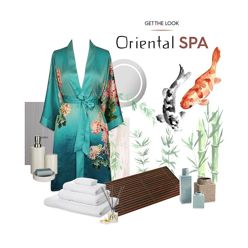 Oriental Spa accessories