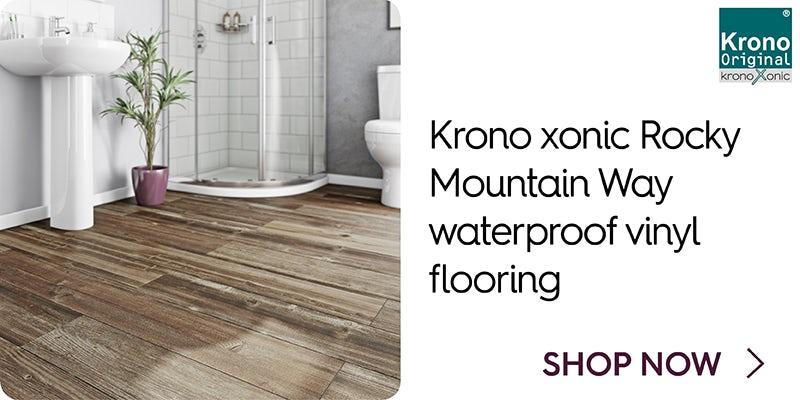 Krono xonic Rocky Mountain Way waterproof vinyl flooring
