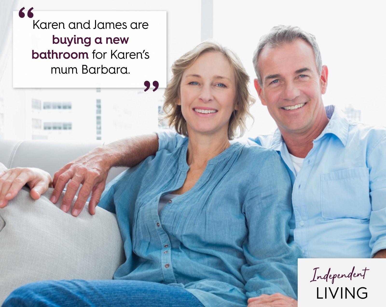 James & Karen