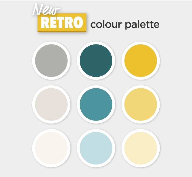 New Retro colour palette
