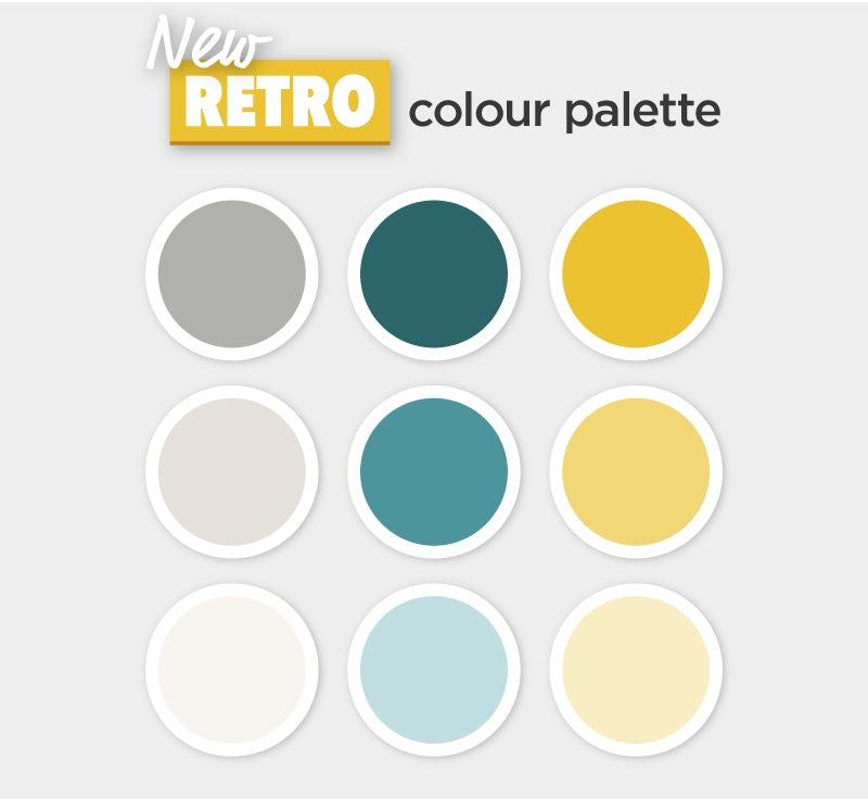 New Retro colour palette