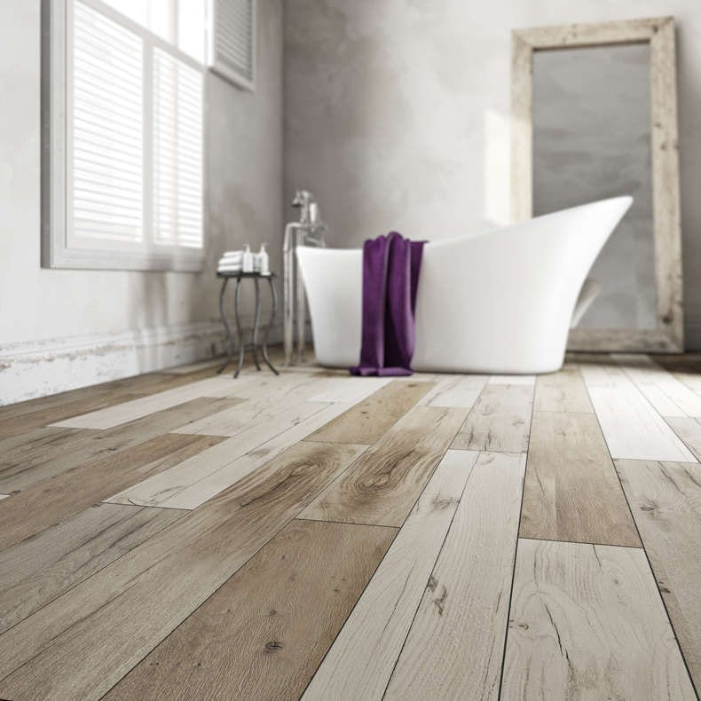 Traditional bathroom inspiration - Laminate tiles for bathroom walls ...