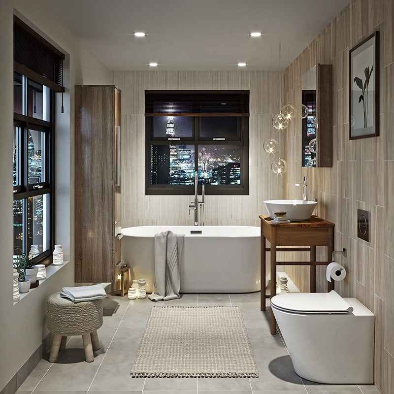 Pure Harmony bathroom
