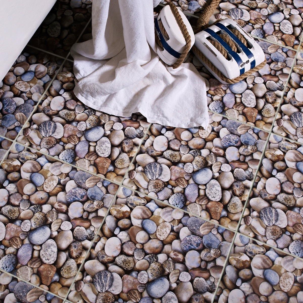 Beach feature matt tile 331mm x 331mm