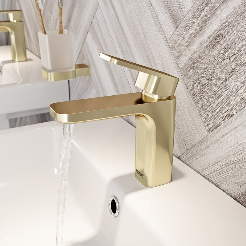Mode Spencer gold basin mixer tap