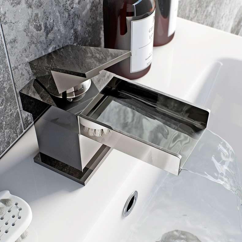 Metro waterfall basin mixer tap