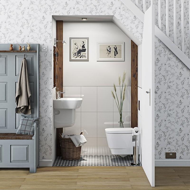 Foster bathroom suite