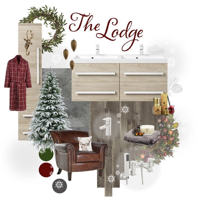 The Lodge mood board