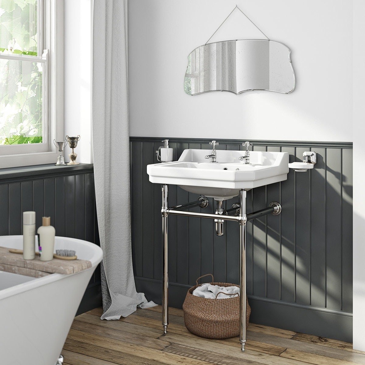 Earl Grey kitchen & bathroom paint