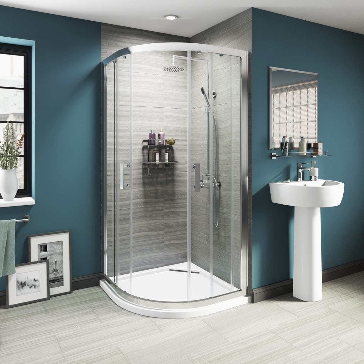 What To Consider When Choosing A Shower Enclosure - Alternative to tiles in shower cubicle