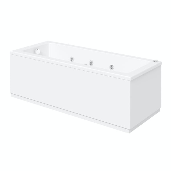 Kensington 1700 x 700 single end 6 jet whirlpool bath