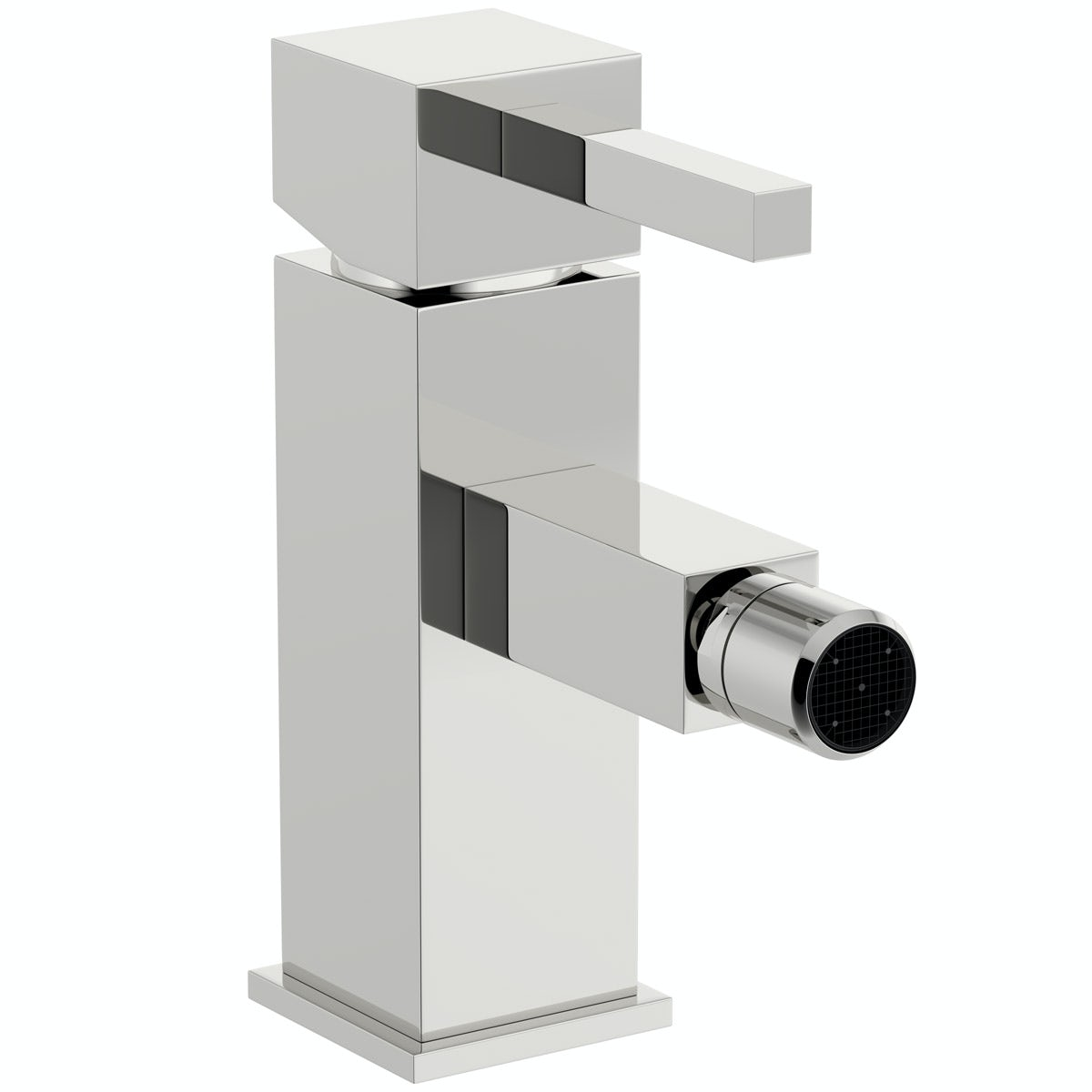 Orchard Cubik bidet mixer tap with pop up waste
