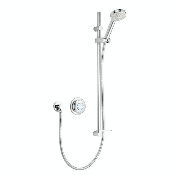 Aqualisa quartz digital concealed shower pumped