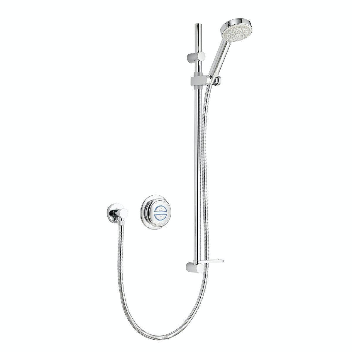 Aqualisa quartz concealed digital shower pumped