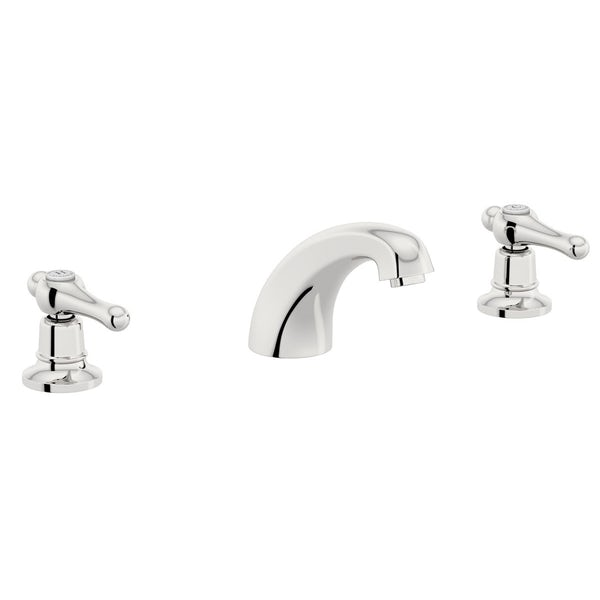 The Bath Co. Camberley lever 3 hole basin mixer and bath pillar tap pack