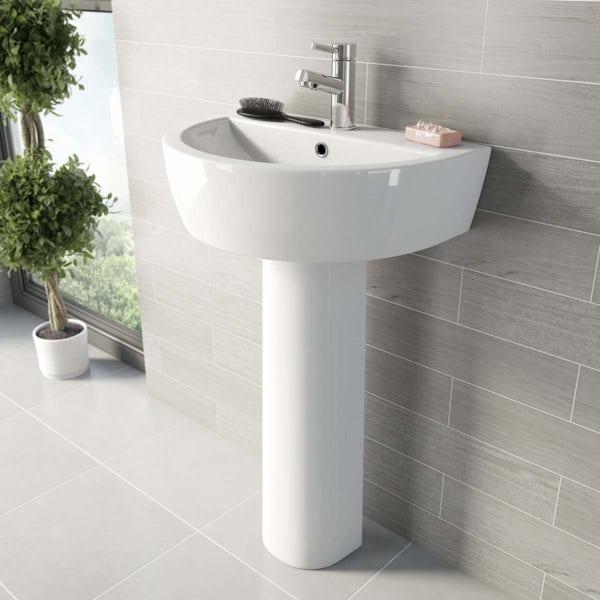 Mode Tate quadrant complete bathroom package