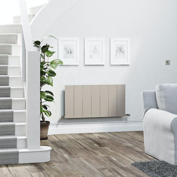 Terma Neo oyster grey horizontal radiator 545 x 1050