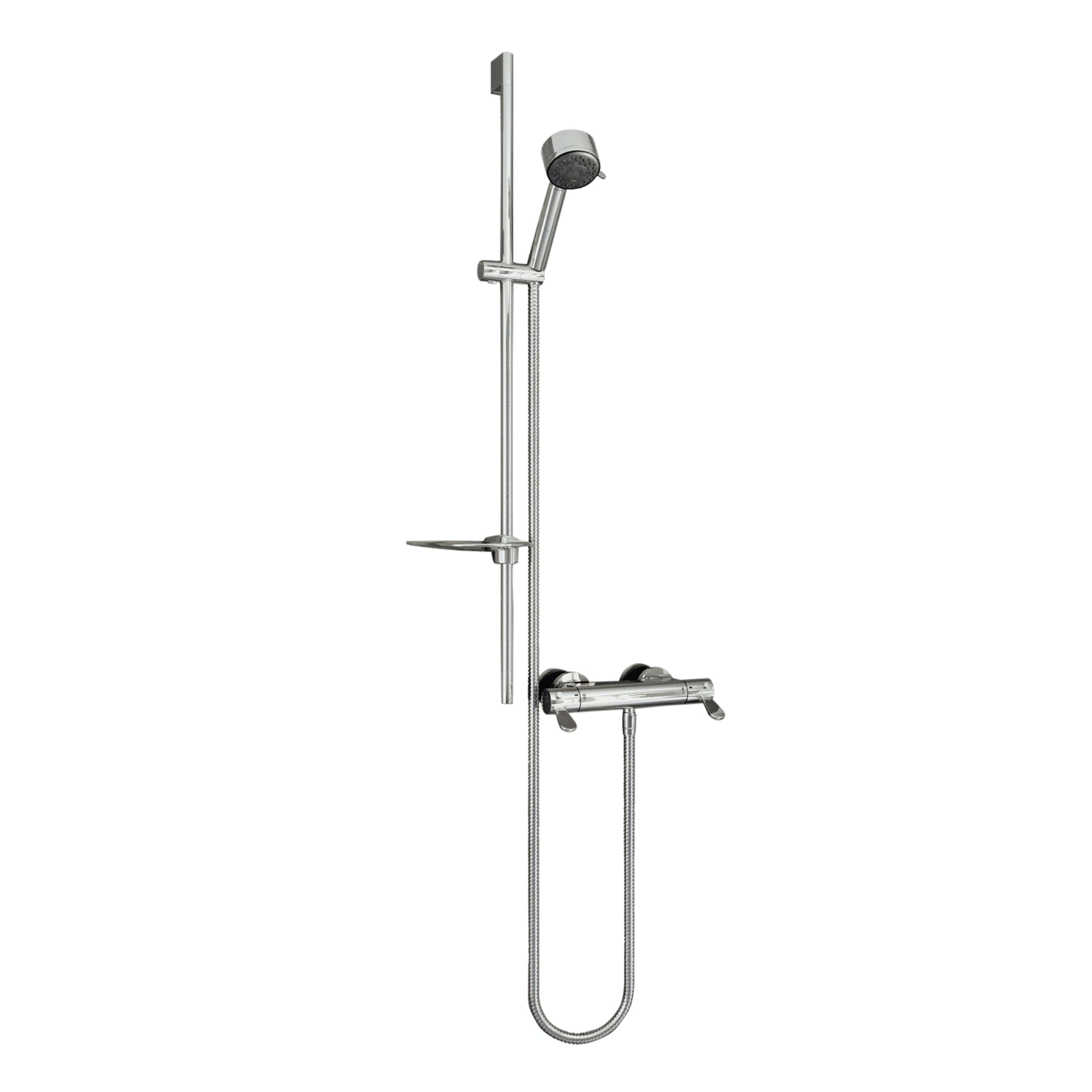 AKW Arka thermostatic mixer shower set