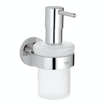 Grohe Essentials soap dispenser and holder