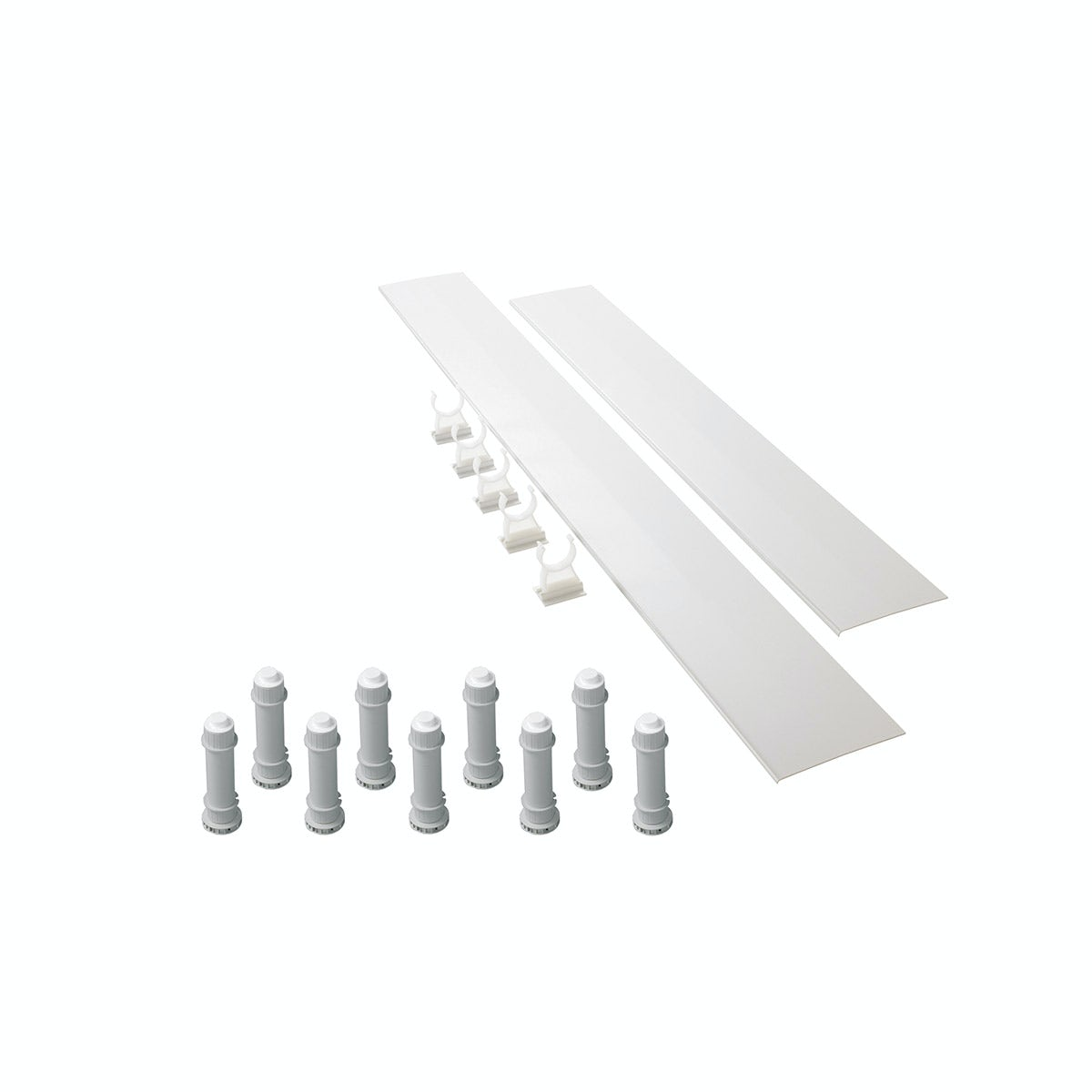 Mira Flight square and rectangle riser kit up to 900mm