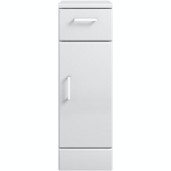 Eden white storage unit 330mm