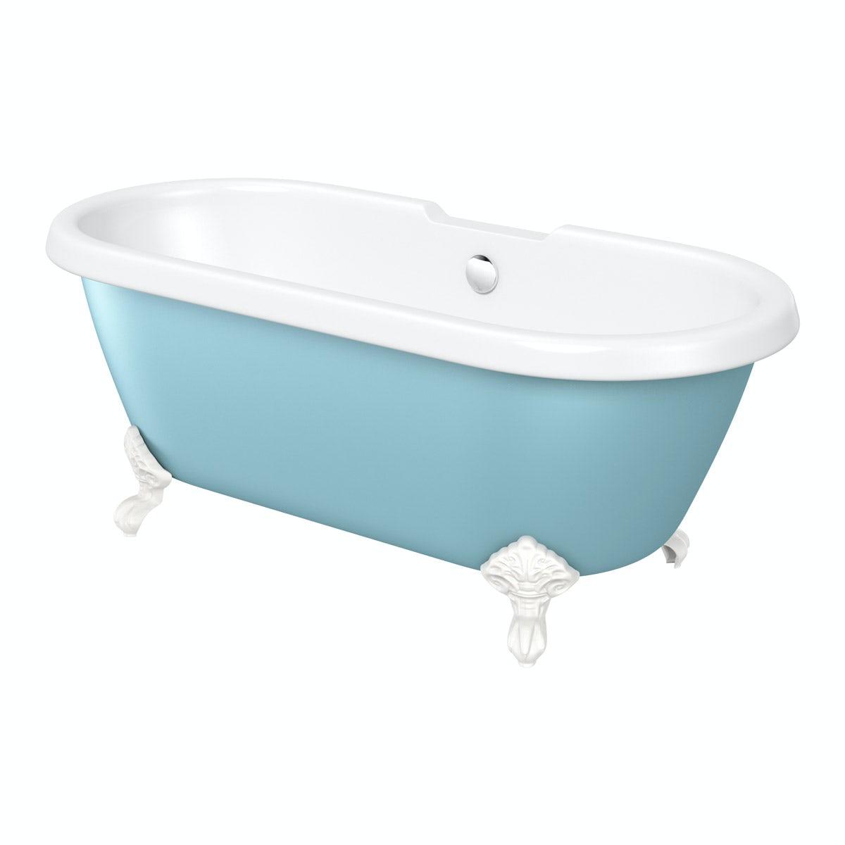The Bath Co. Dulwich Bluebell coloured bath