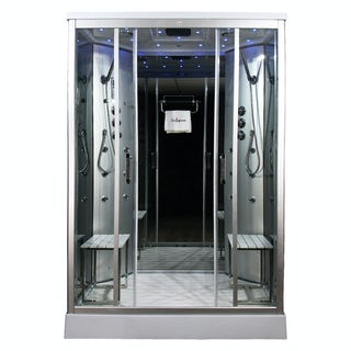 Insignia rectangular steam shower cabin 1400 x 900