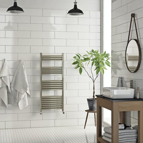 Carter heated towel rail 1200 x 500