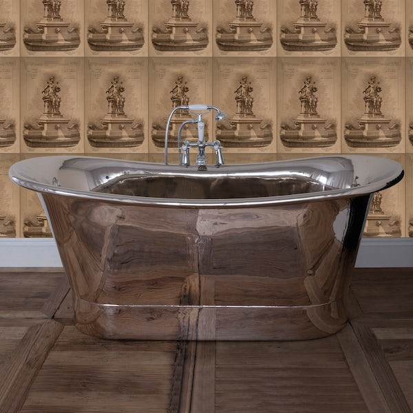 Belle de Louvain Rembrandt nickel bath