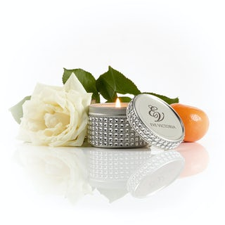 Eve Victoria Neroli, rose & sandalwood diamante tin