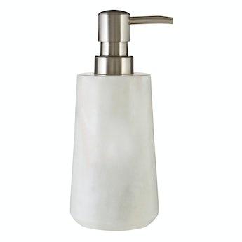 Mode White marble soap dispenser