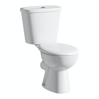 Simple Close Coupled Toilet inc Seat