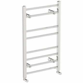 Clarity bathroom towel rail 800 x 500 offer pack