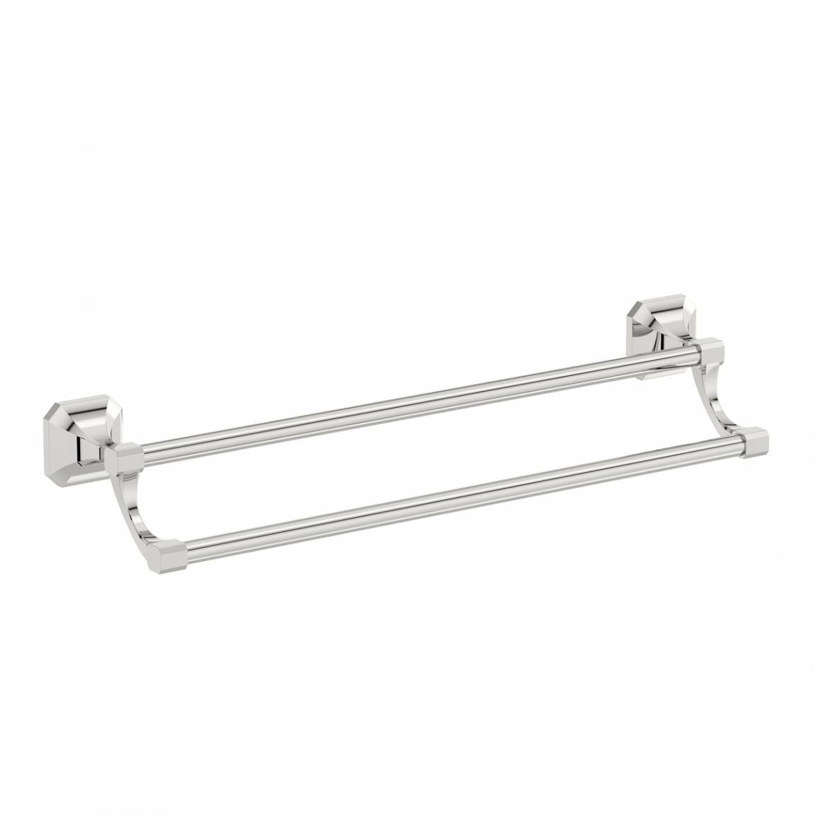 The Bath Co. Camberley double towel rail