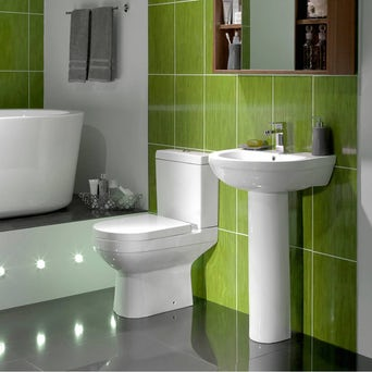Balance Toilet and basin Suite