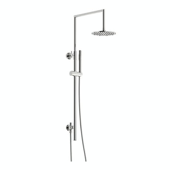 Mode Minimalist waifer round shower riser kit