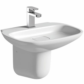 Mode Fairbanks semi pedestal basin 500mm