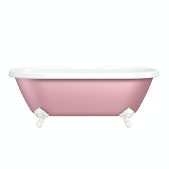 The Bath Co. Dulwich Victoria rose coloured bath